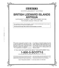 ANTIGUA 1995 (29 PAGES) (BR. LEEWARD ISL. #10)