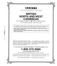 BR. NORTH & WEST CARIBBEAN 1987 #2 (18 PAGES)