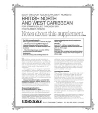 BR. NORTH & WEST CARIBBEAN 1993 #8 (21 PAGES)