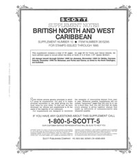 BR. NORTH & WEST CARIBBEAN 1995 #10 (32 PAGES)