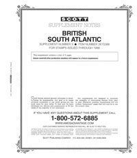 BRITISH S.ATLANTIC 1988 #3 (5 PAGES)