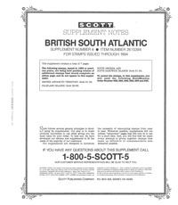 BRITISH S.ATLANTIC 1994  #8 (8 PAGES)