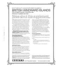 BRITISH WINDWARD ISLANDS 1991 #6 (74 PAGES)