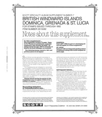 BRITISH WINDWARD ISLANDS 1992 #7 (77 PAGES)