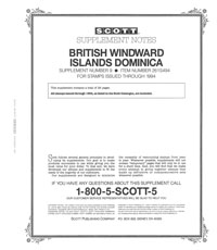 BR. WINDWARD ISL. - DOMINICA 1994  #9 (28 PAGES)