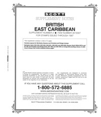 BRITISH EAST CARIBBEAN 1987 #2 (7 PAGES)