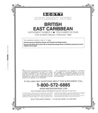 BRITISH EAST CARIBBEAN 1988 #3 (18 PAGES)