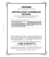 GUYANA 1994 (BR. EAST CARIBBEAN #9) (101 PAGES)