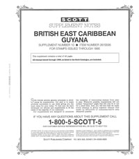 GUYANA 1995 (BR. EAST CARIBBEAN #10)(50 PAGES)
