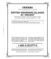 BR. WINDWARD ISL. - ST. VINCENT 1995 #10 (64 PAGES)