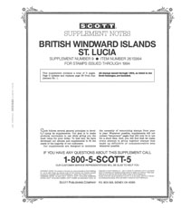 BR. WINDWARD ISL. - ST. LUCIA 1994 #9 (4 PAGES)