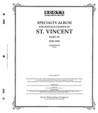 ST. VINCENT 1990-1991 (83 PAGES)