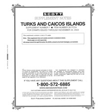 TURKS & CAICOS 2002-2004 (7 PAGES) #7