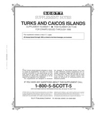 TURKS & CAICOS 1996 (12 PAGES) #1