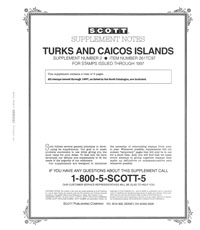 TURKS & CAICOS 1997 (10 PAGES) #2