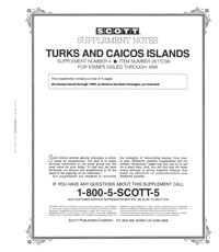 TURKS & CAICOS 1999 (9 PAGES) #4