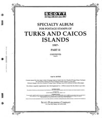 TURKS & CAICOS 1987-1995 (85 PAGES)