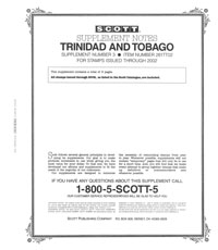 TRINIDAD & TOBAGO 2000-2002 (10 PAGES) #3