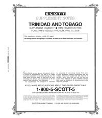 TRINIDAD & TOBAGO 2006 (6 PAGES) #7
