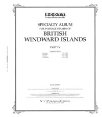 BR WINDWARD ISLANDS 1976-1982 (170 PAGES)