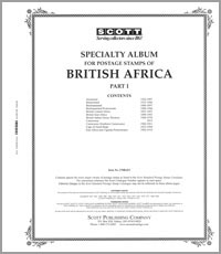BRITISH AFRICA  PART 1: A-E (92 PAGES)