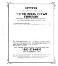 BRITISH INDIAN OCEAN 2002 (5 PAGES) #6