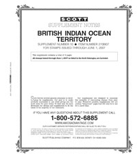 BRITISH INDIAN OCEAN 2006-2007 (7 PAGES) #10