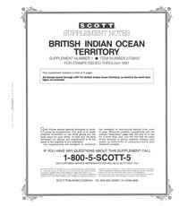 BRITISH INDIAN OCEAN 1997 (3 PAGES) #1