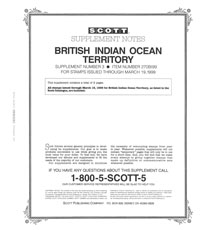 BRITISH INDIAN OCEAN 1999 (3 PAGES) #3