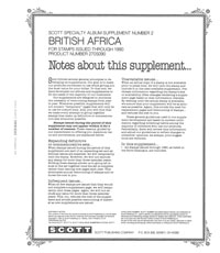 BRITISH AFRICA 1990 #2 (15 PAGES)