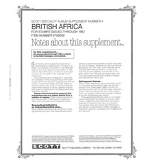 BRITISH AFRICA 1992 #4 (12 PAGES)