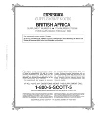 BRITISH AFRICA 1996 (10 PAGES) #8