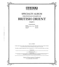 BRITISH ORIENT 1882-1993 (115 PAGES)