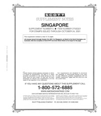 SINGAPORE 2001 (13 PAGES) #5