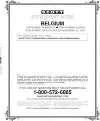 BELGIUM 2007 (16 PAGES) #58