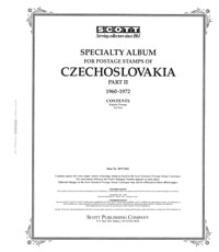 CZECHOSLOVAKIA 1960-1972 (89 PAGES)