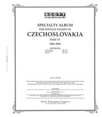 CZECHOSLOVAKIA 1986-1994 (46 PAGES)