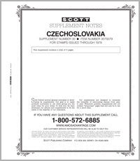 CZECHOSLOVAKIA 1979 #30 (6 PAGES)