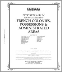 FRENCH COLONIES 1859-1956 (126 PAGES)