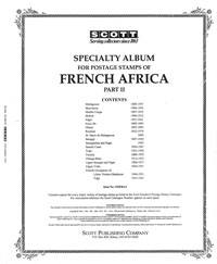 FRENCH AFRICA 1888-1974 MADAGASCAR - UPPER VOLTA (235 PAGES)