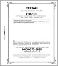 FRANCE 1988 #23 (7 PAGES)