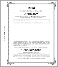 GERMANY 1981 #15 (17 PAGES)