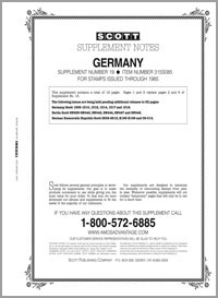 GERMANY 1985 #19 (13 PAGES)
