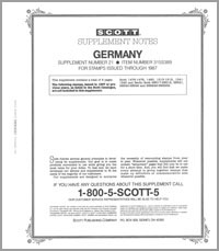 GERMANY (WEST) 1987 #21 (7 PAGES)
