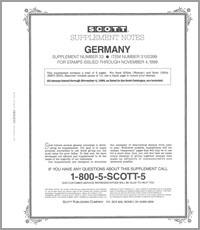 GERMANY 1999 (9 PAGES) #33