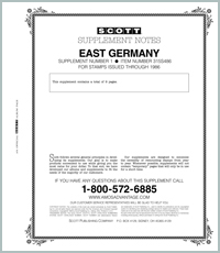 GERMANY (EAST) 1986 #1 (10 PAGES)