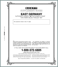 GERMANY (EAST) 1987 #2 (9 PAGES)