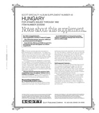 HUNGARY 1992 (8 PAGES) #43