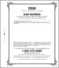 SAN MARINO 2015 (6 PAGES) #65