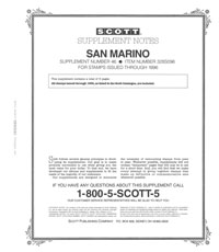SAN MARINO 1996 (6 PAGES) #46